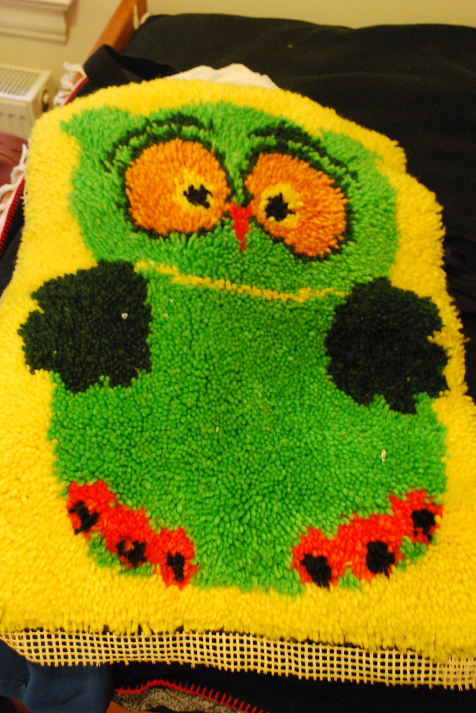 fmf: Owl Wall-hanging