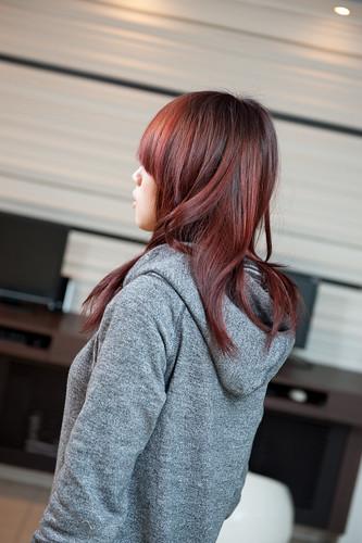 [ 女生髮型 ] 紅