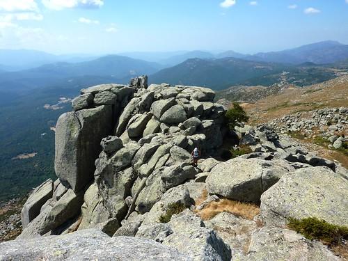 Sommet N de Punta di A Bambiola : l'autre sommet (Sud)