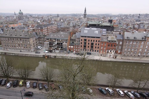 Namur from the citadelle...