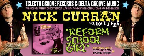 Nick Curran & The Lowlifes - Reform School Girl (CD)