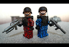 Tiger Team (Geoshift) Tags: lego military seal specialforces socom moc callofduty mw2 customlego brickarms modernwarfare legomilitary legocustom legocustomminifig
