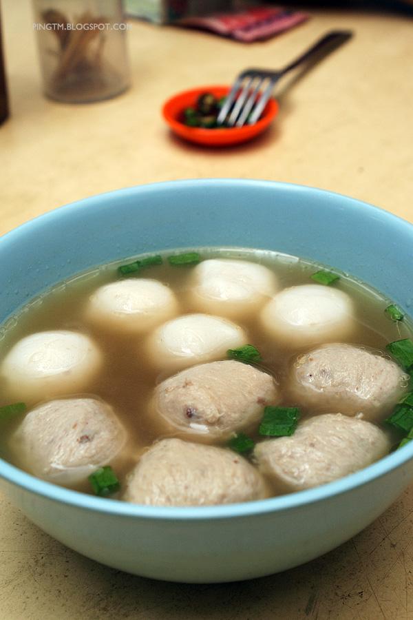 鱼丸+肉丸汤