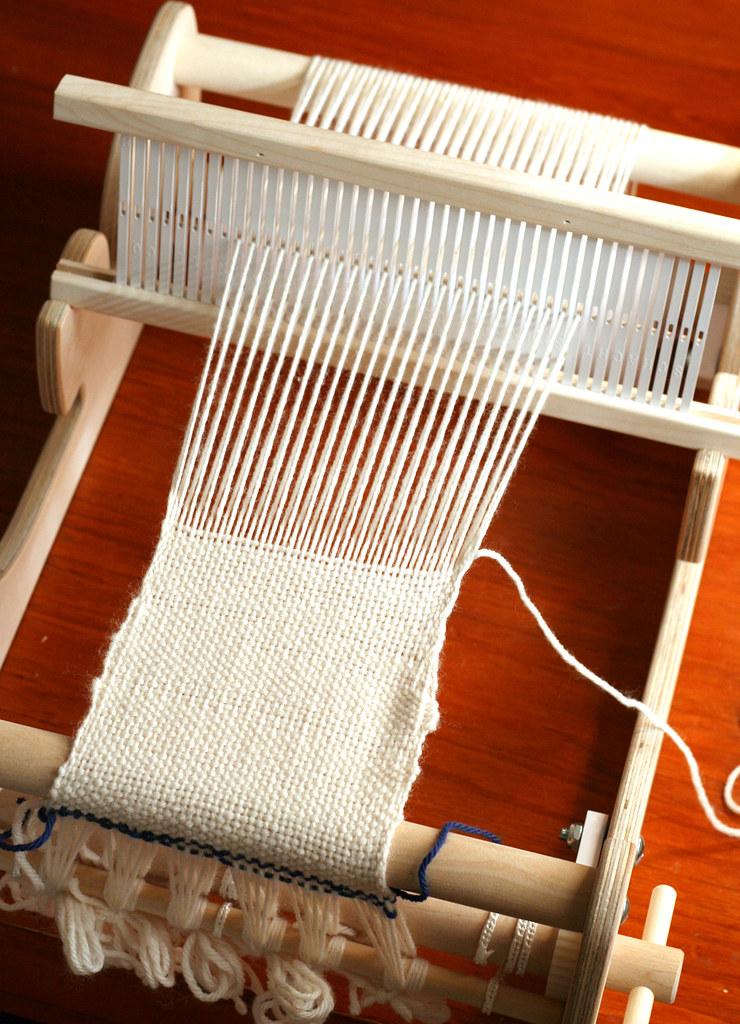 I'm weaving!