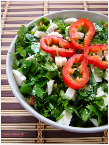 maydanoz salatası tarifi