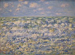 Monet, Waves Breaking, 1881 (Sharon Mollerus) Tags: sanfrancisco art museum daniel w monet impressionism claude catalogue palaceofthelegionofhonor 1881 roughsea 661 wildenstein raisonn wavesbreaking meragite qd10 w661