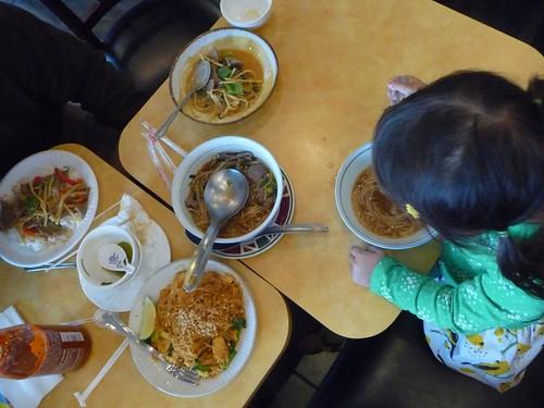 Huge Asian feast