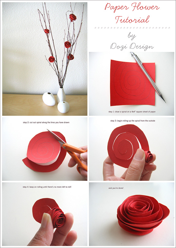 Super Cute Paper Flowers