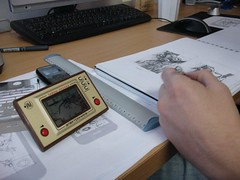 Drawing iPhone game (studio tomato*) Tags: game design drawing octopus illustrate iphone designcommision