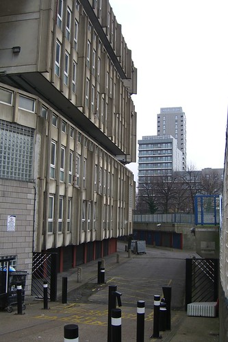 Parking at Robin Hood Gardens