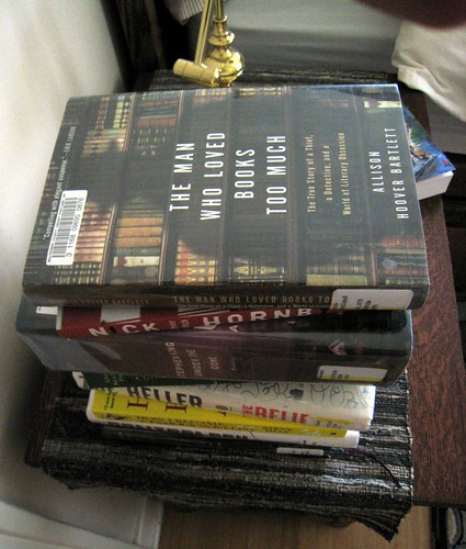 The Man Who Had Too Many Books on His Nightstand