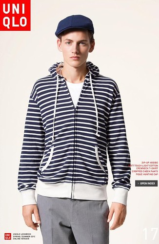 UNIQLO 0242_LOOK BOOK 2010 SPRING_Jakob Hybholt