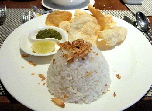 Rice to accompany the Beef Soup