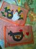 Porta travessa (Dipano Ateliê) Tags: de galinha pano patchwork prato cozinha jogos tecido aplicação apliqué dipano