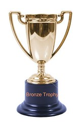 trophy for bronze trophy group