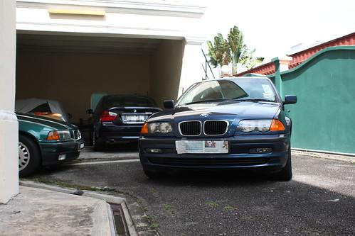 E36, E90 and E46