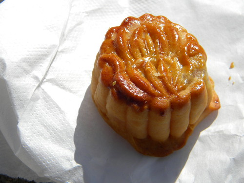 Winter Mellon Moon Cake