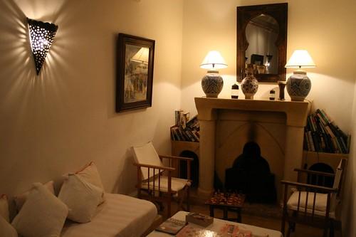 Salons de Riads à Marrakech
