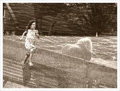 """""""The Girl Who Grew Too Old to Run Anywhere"""" (Sion Fullana) Tags: painterly sadness poetry sad doubleexposure creative characters dreamy aging allrightsreserved melancholic iphone creativeshots littlegirlrunning magicsadness sionfullana dxpapp editedoniphone thegirlsdream doubleexposureoniphone"""
