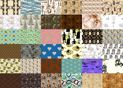 Vote in our Steampunk fabric contest