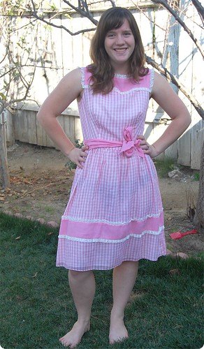 Pretty in the Prairie Dress