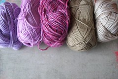 16 (fleurfatale) Tags: new wool colors crochet shades yarn cotton