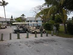 Bahama Golf Cart Parking