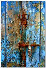 well secured (Soumya Bandyopadhyay) Tags: door closed lock kolkata panasoniczs3