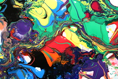 IMG_6678 (timington) Tags: abstract macro ink acrylic swirl trippy psychedelic multicolored