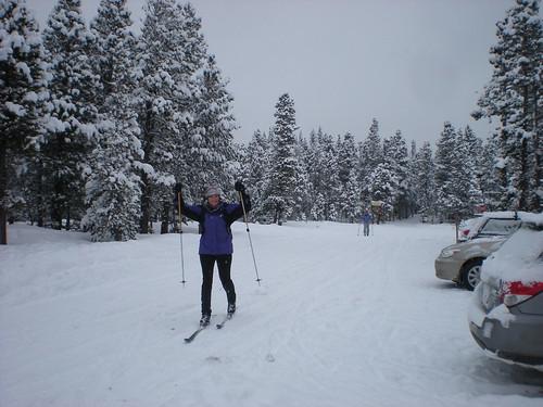 Kat Celebrates a Lovely 9 Mile Ski