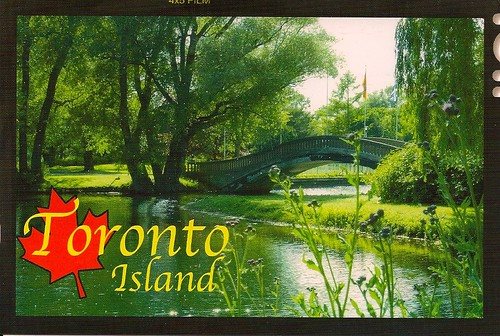 Toronto Island Postcard