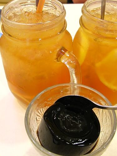 IMG_7608 龟苓膏和柠檬茶