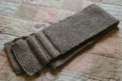 oatmeal scarf