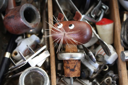 A lovely cat bottle opener