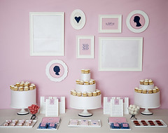 Preppy Dessert Table