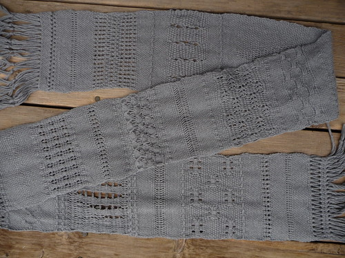 Lace Sampler Scarf