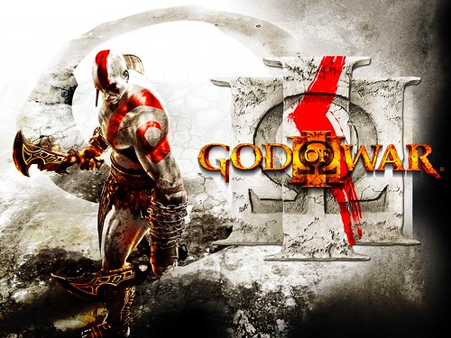 god of war 3 wallpaper. God Of War 3 Logo Wallpaper