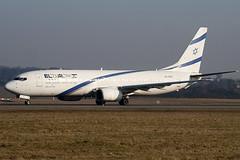 4X-EKC - 29959 - El Al Israel Airlines - Boeing 737-858 - Luton - 100305 - Steven Gray - IMG_7882