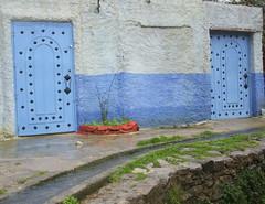 (Amrico Meira) Tags: door puerta porta porte chefchaouen marrocos