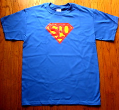 SEO - Covario's SEO Superhero T-Shirt
