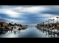 Channel Island Harbor (...-Wink-...) Tags: ocean california blue sky beach nature water docks landscape boats coast harbor sand waves scenic bluesky shore vista thegimp ventura scapes nikond80 channelislandharbor nikkor35mm18