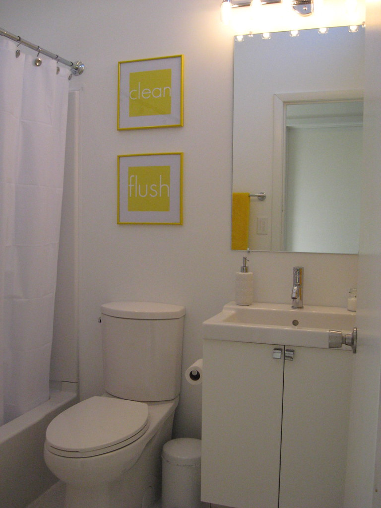 Hall Bathroom - March 2010