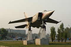 MiG-25 Elets (Angle-of-Attack) Tags: 2005 airplane russia aircraft aviation jet lipetsk mig25 foxbat gateguard elets