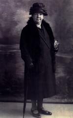 Image titled Mrs W. Fullerton, Alloa, 1926.