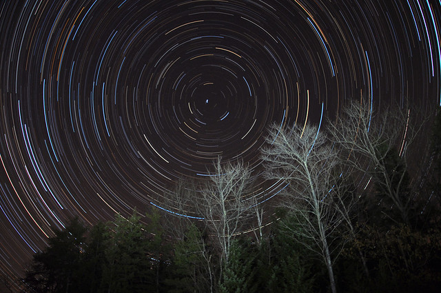 Star Trail 2010-03-06
