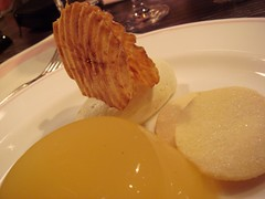 Bramley And Cox Apple Jelly with Cream, Corrugated Apple and Shortbread