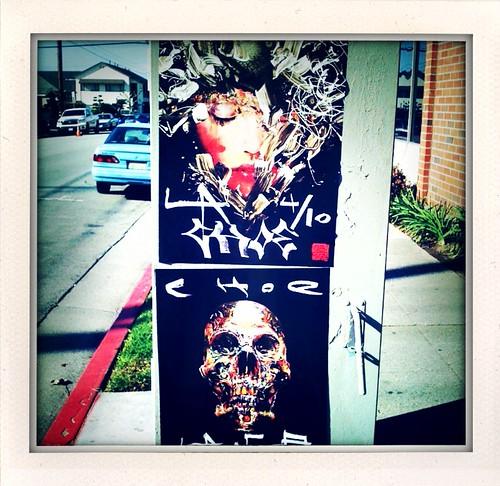 David Choe Posters LA 4/10