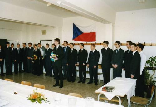 Představení studentů maturitní komisi