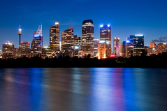 Sydney at night (canbalci) Tags: night dusk sydney australia explore frontpage impressedbeauty