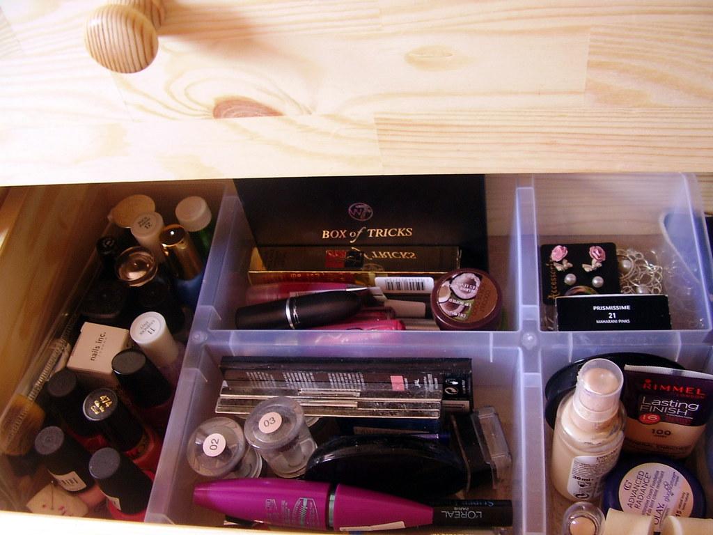 My vanity drawer.